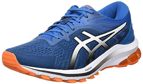 Asics GT-1000 10, Road Running Shoe Hombre, Reborn Blue/Black, 44 EU