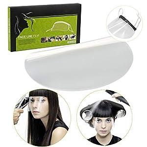 41XDnTJbEGL. SS300  - Desechables Mascarillas Mascarilla Transparente Protección Para los Ojos Para Peluqueros Maquillaje Ducha,100PCS
