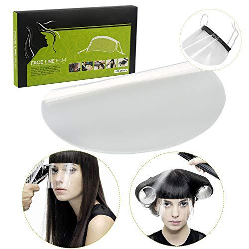 Jetable Plastique Transparent Eyeprotector Outils de Coiffure pour la Douche de Maquillage de Salon de Coiffure,100PCS