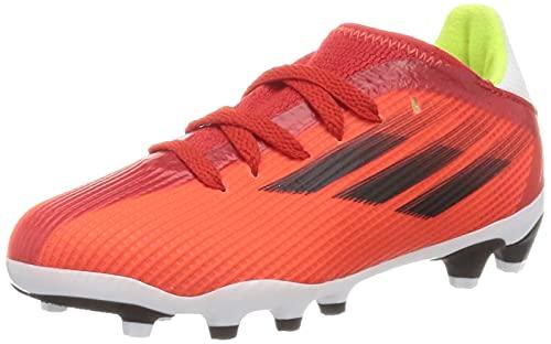 adidas X SPEEDFLOW.3 MG J, Zapatillas Deportivas, Rojo/NEGBÁS/Rojsol, 34 EU