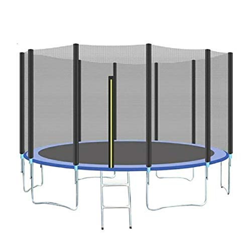 QUUY - Red de seguridad de repuesto para trampolín, 15 feet 4.57 meters 5 legs 10 posts net
