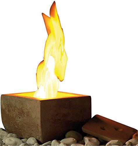 Carlo Milano Feuerschale: Terracotta-Dekofeuer Scodella für Bio-Ethanol (Bioethanol Tischfeuer)