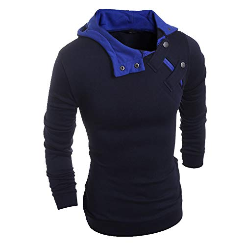 N\P Hombres Slim Casual Hombres Descuento Suéter 4 Colores Chaqueta Sombrero Top Coat Plus