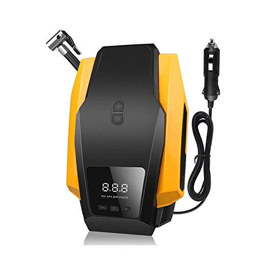 Compresor Bomba De Aire Sin Cable Automática Rechargeable Moto - Mini Bomba Compresor Inflador De Aire Batería Digital Inteligente, Compresor Bomba De Inflado Aire Bicicleta Portatil Profesional