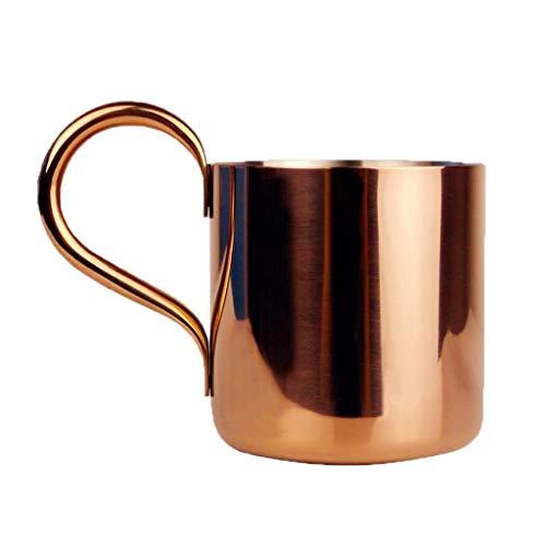 Tazas de Cobre Moscow Mule (300 ml / 500 ml) - Tazas de Cobre Hechas a Mano de Cobre Macizo para cóctel Moscow Mule - como se Muestra, 2: 500 ml, duraderas