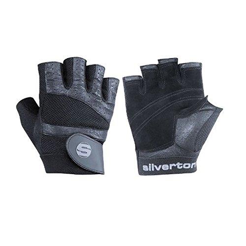 Silverton Erwachsene Trainingshandschuh Pro Plus, schwarz, XL