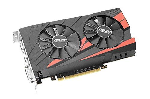 Asus GeForce GTX 1050TI OC 4GB GDDR5 PCI-Express3.0 128bit 1xDVI 1xHDMI 1xDP aktiv