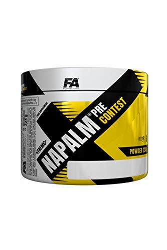 Fitness Authority fa NAPALM Pre Contest Lemon Lime, 224 G