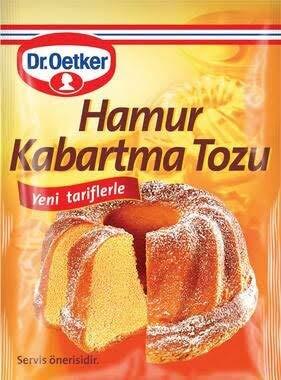 Dr. Oetker Baking powder (Kabartma Tozu ) 10gr - 15 bags total