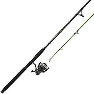 Zebco BCAT50702MH, 15, NS4 Zebco Big Cat Spinning Combo, 4.3: 1 Gear Ratio, 7' Length, 2pc Rod, 6-14 lb Line Rate, 1/8-5/8 oz Lure Rate