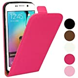 Roar Handywelt-Niefern - Funda de piel sintética con tapa y cierre magnético para Sony Xperia Z3 Compact, color rosa