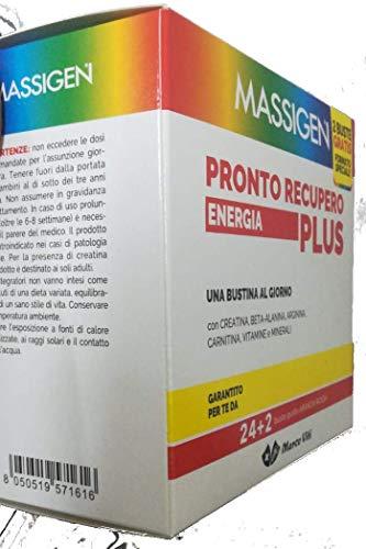 MASS PRONTO RECUPERO ENERGIA PLUS 24+2 BS