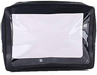 Fanspack Toiletry Bag Clear Makeup Bag Splash Proof Makeup Pouch for Unisex