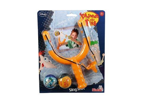 Simba Toys - Proyectil para Armas de Juguete Phineas Phineas Y Ferb 7043519