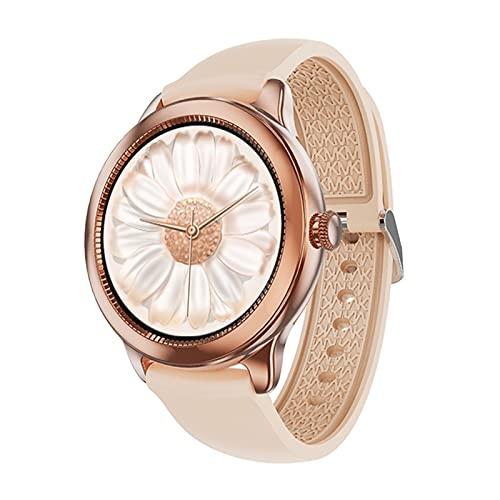 AKL Damas Smart Watch Se Ve Elegante, Ligero Y Único Unisex Impermeable Reloj Inteligente Pulsera Multifunción Reloj Inteligente,C