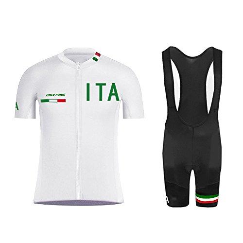UGLY FROG Completo Ciclismo Body Tuta Cislismo Magliatte+Bib Pantaloncini Completo Bici Abbigliamento Ciclismo