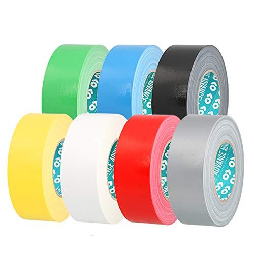 Advance Tapes AT0175 Serie AT175 Industrielles wasserdichtes Klebeband, schwarz, 50 mm x 50 m, 76 mm Kern, Einzelrolle