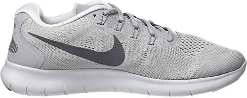 Nike Herren Free RN 2017 Traillaufschuhe, Grau Wolf Grey Dark Grey Pure Gris Platinum Off White, 39 EU