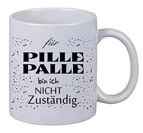 Kaffee Tasse für Pille Palle bin ich nicht. Geburtstag Weihnachten Geschenk