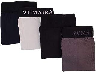 Zumeira Men Boxer Modal cotton Multicolor, Set of 4 Pieces