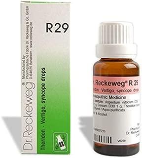 Dr. Reckeweg R29 Vertigo And Syncope Drop
