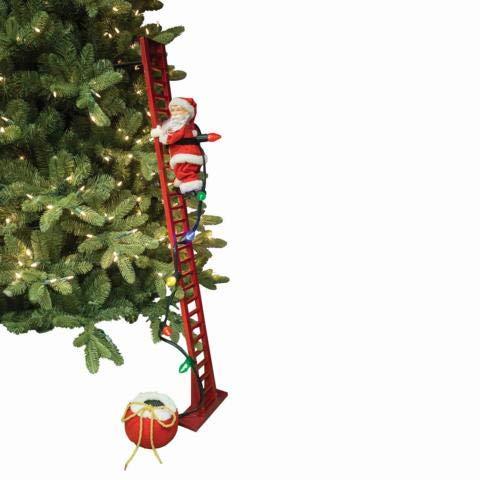 Il mondo dei carillon Mmm GmbH, 858206 Carillon Babbo Natale Che Sale Le Scale