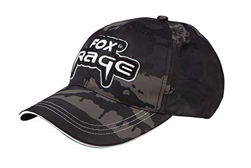 Fox Rage Camo Baseball Cap - Angelcap für Spinnangler, Basecap, Schirmmütze für Angler, Angelcappy, Cappy