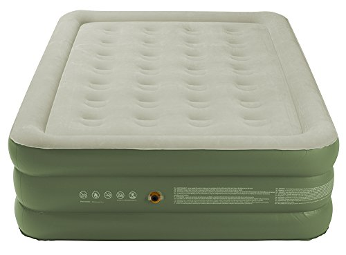 Coleman Raised Double Airbed Air Bed - Green