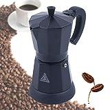 Espressokocher Elektrisch Espressomaschine Mokka Maschine Aluminium Espresso Kanne, 300 ml / 6 Tassen