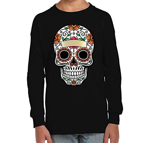 Camiseta Manga Larga de NIÑOS Skull...