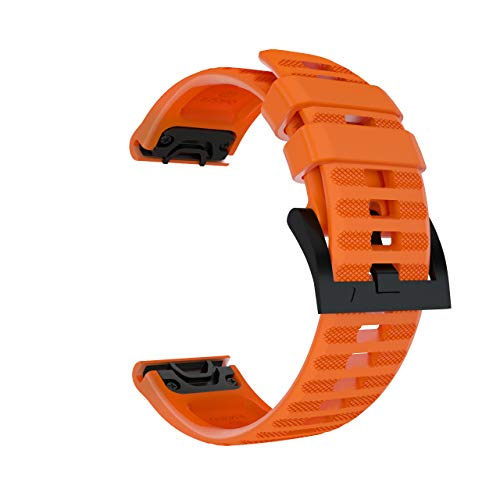 Read About Sillicone Watch Band for Garmin Fenix 6,6 Pro,Fenix 5,5 Plus,Forerunner 935,Forerunner 94...