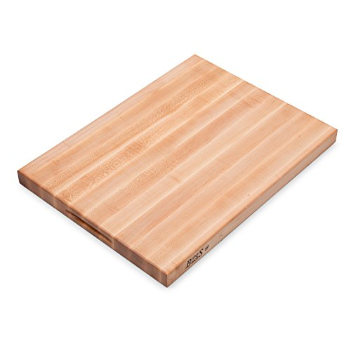 John Boos - R2418 Platinum Commercial Series Maple Wood Edge Grain Reversible Cutting Board 24 Inches x 18 Inches x 175 Inches