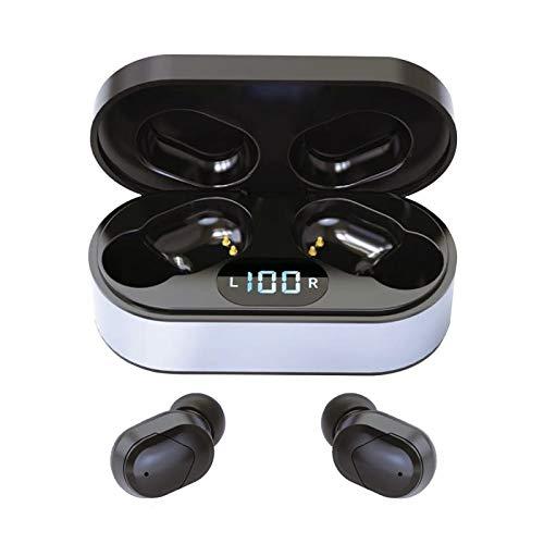Platinet PM1050B Vibe Bluetooth 5.0 und TWS (True Wireless Stereo)-Technologie In-Ear Kopfhörer mit Freisprecheinrichtung zum telefonieren