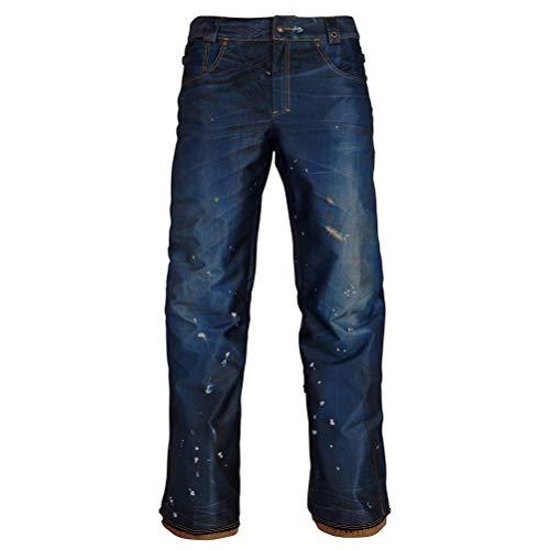 686 Damen Snowboard Hose Deconstructd Denim Insulated Pants