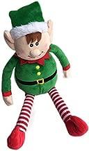 Checkered Fun Christmas Elf Plush Stuffed Toy - Christmas Toy- Cute Xmas Elves For Kids