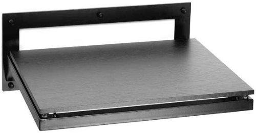 Pro-Ject 3861 Wallmount 1, Regal für Plattenspieler, Schwarz