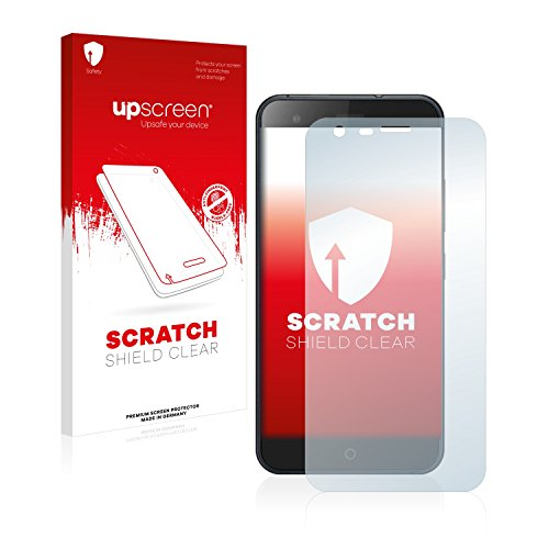 upscreen Schutzfolie kompatibel mit Ulefone Paris Arc HD – Kristallklar, Kratzschutz, Anti-Fingerprint