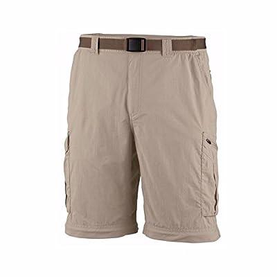 """Columbia Mens Kestrel Trail Omni-Wick UPF 50 Shorts (36/ Ins 12"""", Beige)"""