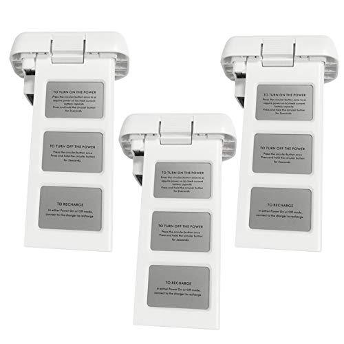 Topchances, batteria di ricambio, 15,2 V, 4480 mAh, ricaricabile per DJI Phantom 3 standard (tre batterie)