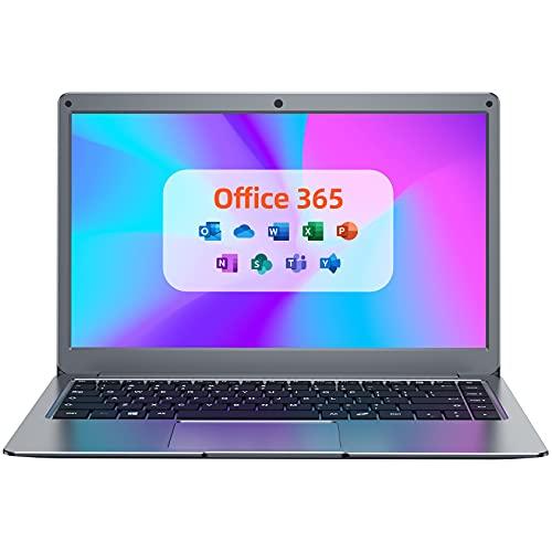 Jumper X3 Ordenador Portátil 13.3' FullHD(4GB RAM 64GB eMMC Windows 10 Laptop Intel HD Gráficos Notebook Intel CPU Bluetooth 4.2 USB3.0 MS Office) -Teclado QWERTY Españo