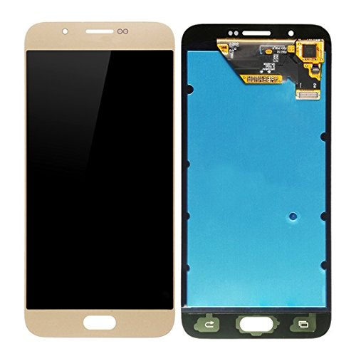 Compatibele Vervangings IPartsBuy for Samsung Galaxy A8 / A8000 LCD-scherm + Touch Screen Digitizer Vergadering Replacement Accessory (Color : Gold)