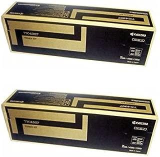Kyocera TK-6307 (TK6307) Black Toner Cartridge 2-Pack for TASKalfa 3500i, 4500i, 5500i