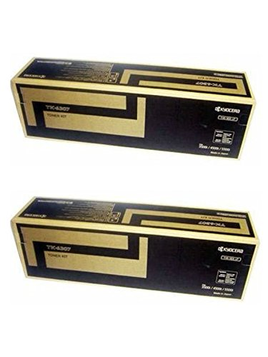 Kyocera TK-6307 (TK6307) Black Toner Cartridge 2-Pack for TASKalfa 3500i, 4500i, 5500i