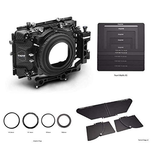 TILTA MB-T04 4×5.65 Carbon Fiber Matte Box (Swing-Away) 19mm for Film Camera ARRI/RED/PL Lens ect,