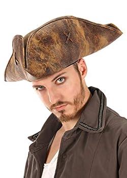 Disney Pirates of The Caribbean Jack Sparrow Costume Pirate Hat