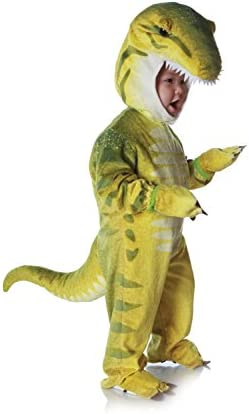 Underwraps Costumes Baby Toddler s T Rex Costume Jumpsuit Green X Large 4 6 Yrs product image