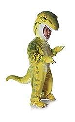 1. Underwraps Toddler's T-Rex Costume Jumpsuit