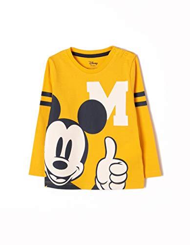 ZIPPY Camiseta de Manga Larga Mickey Bebés