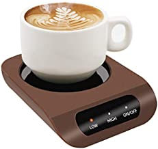 Coffee Mug Warmer-Desktop Beverage Warmer-Electric Cup Warmer Tea Water Cocoa Milk for Office Desk and Home Use 110V 35W Best Gift for Coffee Lovers with Automatic Shut Off Function