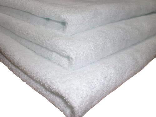 バスタオル 業務用 800匁 白 12枚